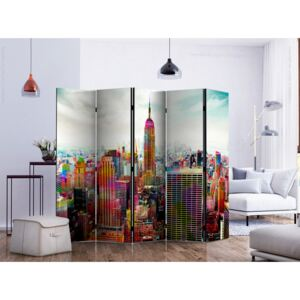 Room divider: Colors of New York City II [Room Dividers]