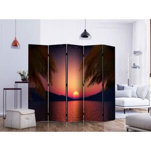 Room divider: Romantic evening on the beach II [Room Dividers]