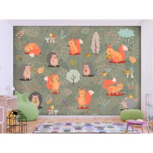Wall mural For Children: Friends of the Forest
