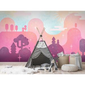 Wall mural For Children: Candy Land