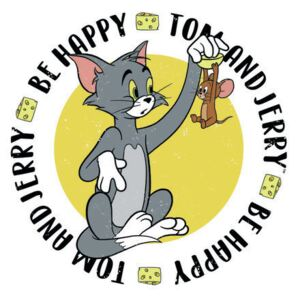 Art Poster Tom& Jerry - Be Happy