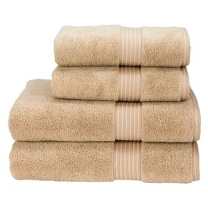 Christy Supreme Hygro Towels Stone Guest
