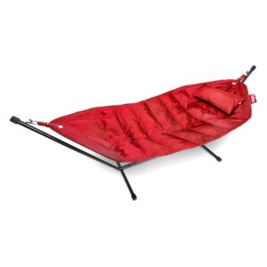Headdemock Deluxe Hammock - with cushion and protection case by Fatboy Red