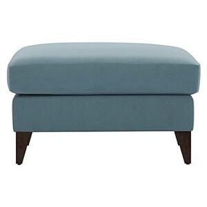 The Lounge Co. - Romilly Fabric Footstool - Blue