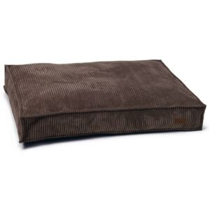 Designed by Lotte Dog Cushion Ribbed 100x70x15 cm Brown