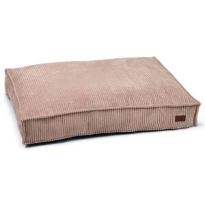 Designed by Lotte Dog Cushion Ribbed 100x70x15 cm Pink
