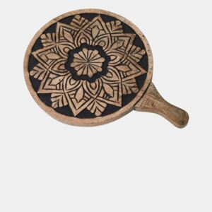 Twilight Wooden Pizza Tray - black and natural