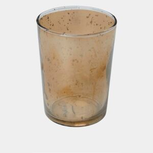 Recycled Copper Glass Tumbler - bronze