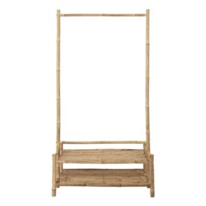 Children clothes rail - / Bamboo - L 60 x H 130 cm by Bloomingville Beige