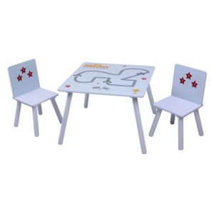 Stars & Cars Table and Chair Set