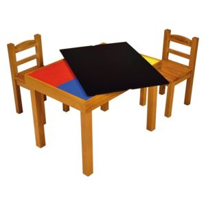 Wooden Activity Table and Chair Set