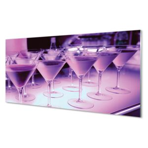 Acrylic print Cocktail in glasses 100x50 cm