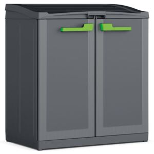 """Keter Recycling Cabinet """"Moby Compact Recycling System"""" Graphite Grey 100 cm"""