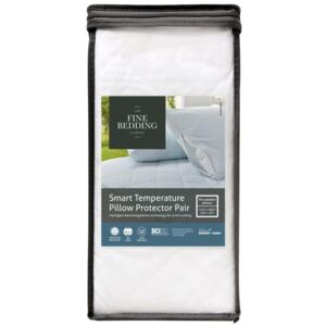 The Fine Bedding Company Smart Temperature Pillow Protector Pair