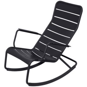 Luxembourg Rocking chair by Fermob Grey