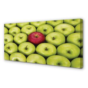 Canvas print The green and red apples 100x50 cm