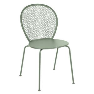 Lorette Stacking chair - / Metal by Fermob Green