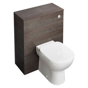 Ideal Standard Tempo Back to Wall Toilet and Unit - Lava Grey