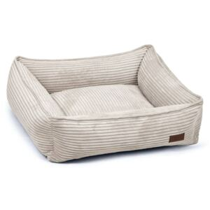 Designed by Lotte Dog Bed Ribbed 65x60x20 cm Light Grey