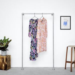 ZIITO W1H - Wall-mounted clothes rack (H:170cm)