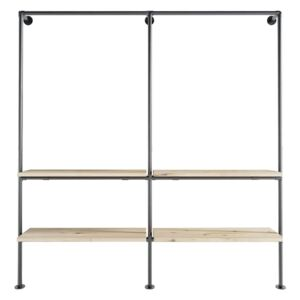 ZIITO W2 - Wall mounted walk-in system
