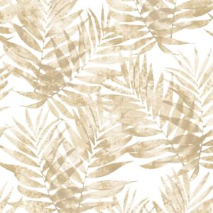 Organic Textures Speckled Palm Brown Wallpaper Sample