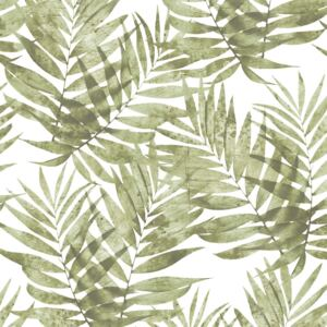 Organic Textures Speckled Palm Green Wallpaper Sample