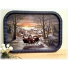 Christmas serving trays